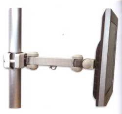 universal LCD monitor pole arm