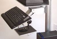 height adjustable ergonomic keyboard tray shelf