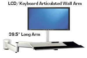 D395 131 Wall Lcd Keyboard Arm 39 5 Quot Long