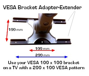 D Ad 200100 Vesa Adapter Plate Interphase