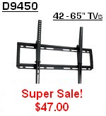 D9450 Tiltable TV Wall Mount Heavy-Duty, for TV from 42 - 65